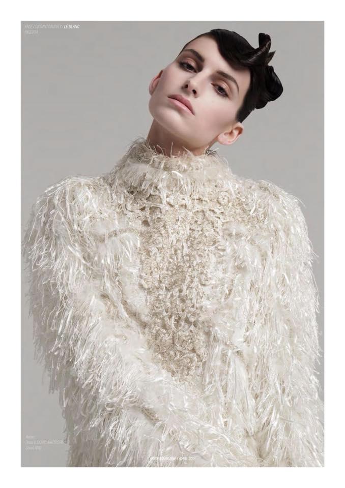 Published in: Arise Magazine (April '18); Photography: Audrey Bieber; Post Production: Ad Retouch Studio