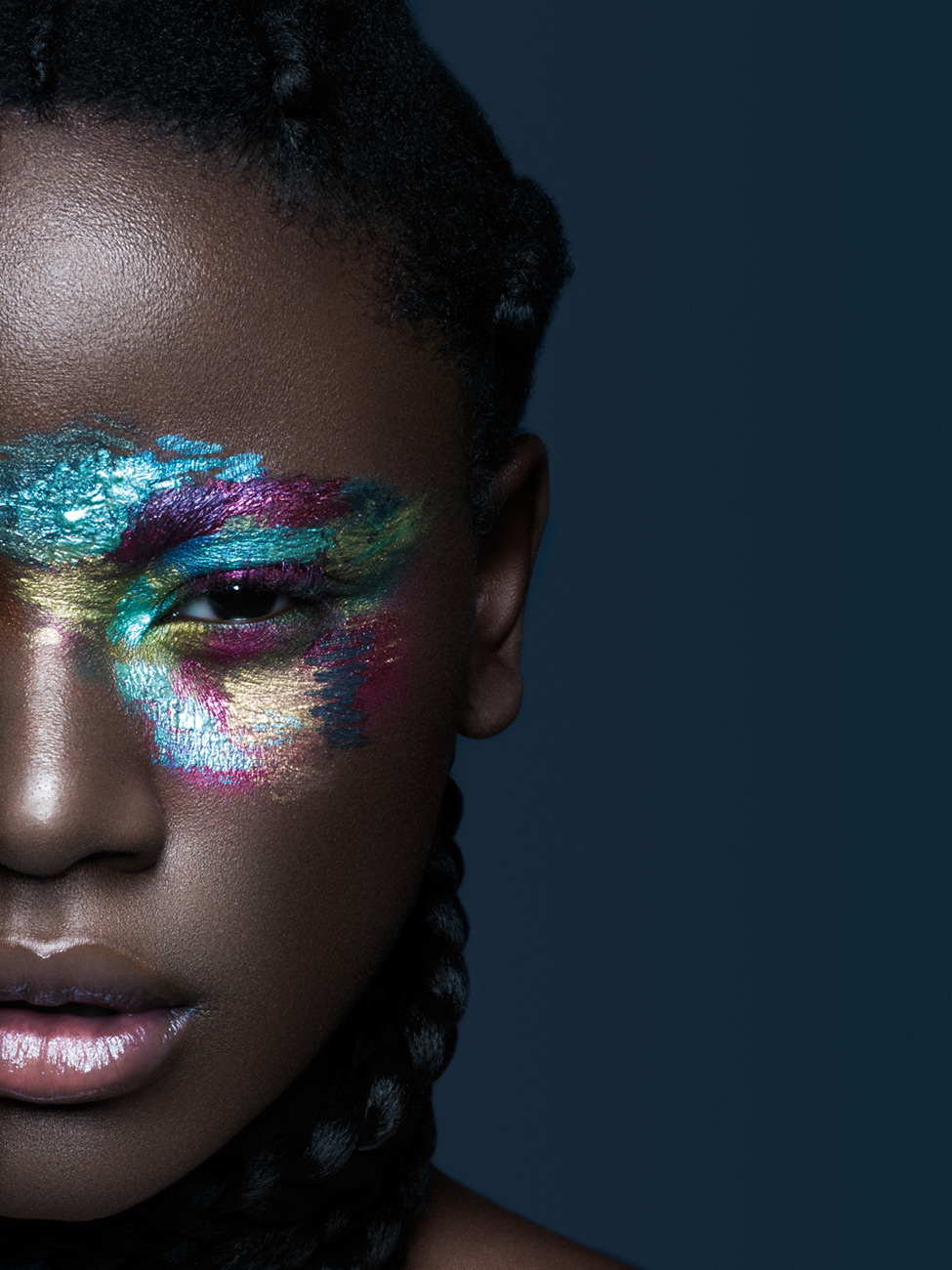 Concept & MUA: Simone Zbinden; Retouching; Ad Retouch Studio