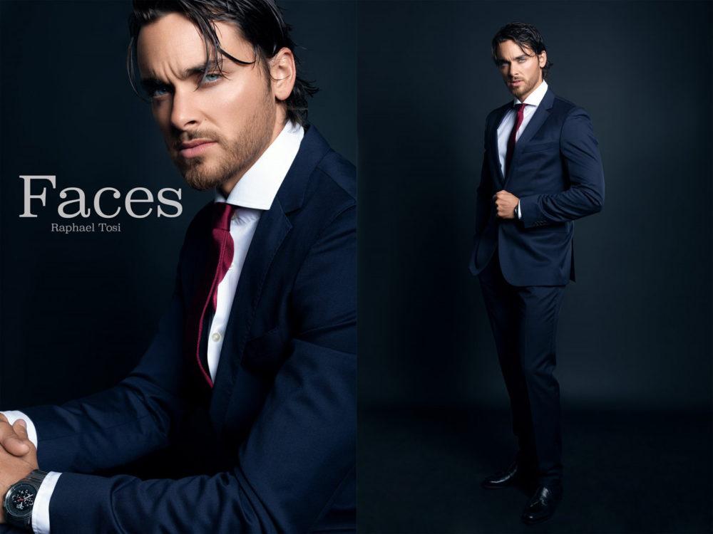 male series portrait photo retouching
