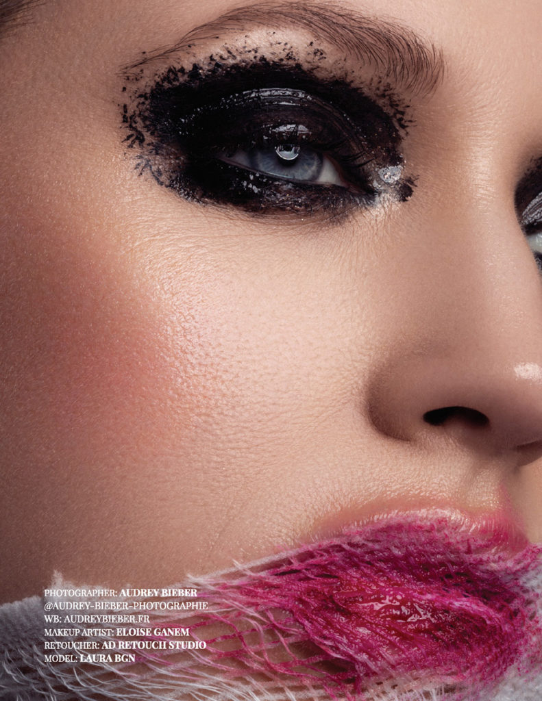 Photography: Audrey Bieber; Retouching: Ad Retouch Studio; Published in Imirage Magazine